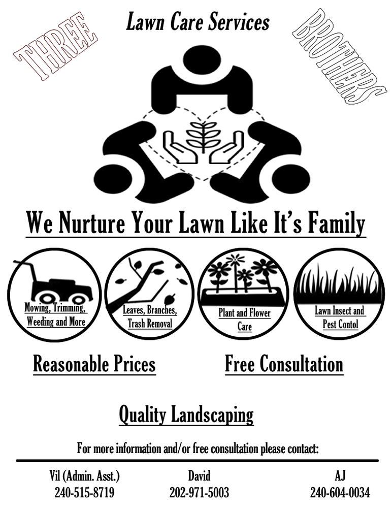 Three Brothers Lawn Care Services: Brandywine, MD