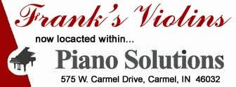 Frank's Violins: 575 W Carmel Dr, Carmel, IN