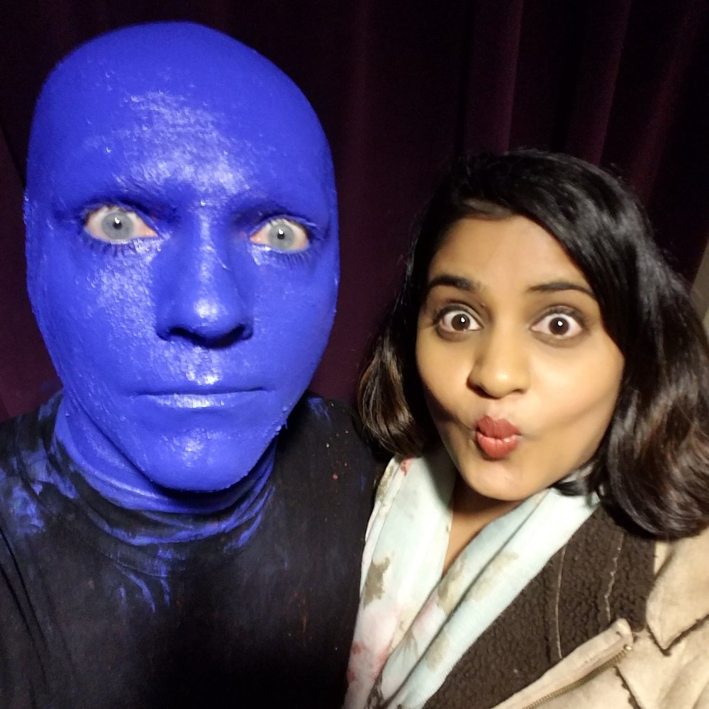 Blue Man 50