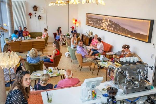 Photo Of Café Wohnzimmer   Altensteig, Baden Württemberg, Germany.  Innenansicht