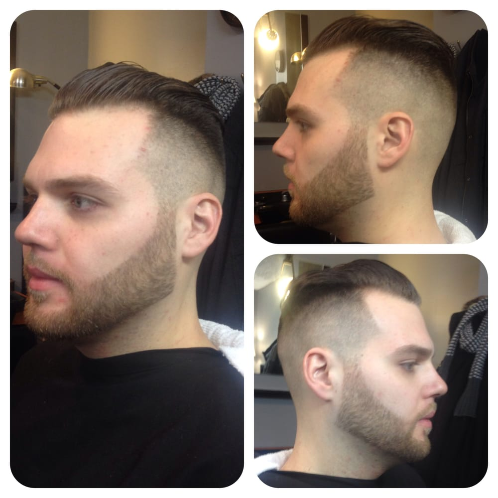 a classic princeton. all barbers are trained in traditional and