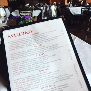 Photo Of Avellino S Italian Restaurant Fairfield Ct United States