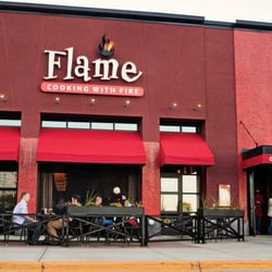 Photo Of Flame Rotisserie Grill Bar Roseville Mn United States
