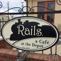 Rails A Cafe At The Depot Menu