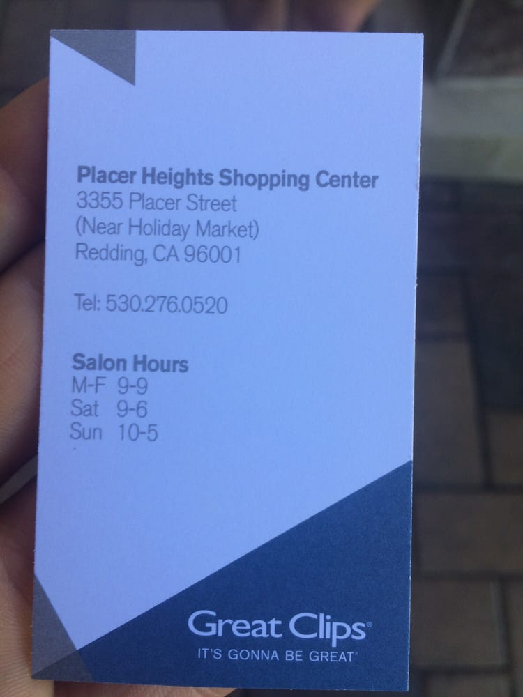 Great Clips 11 Reviews Hair Salons 3355 Placer St Redding Ca
