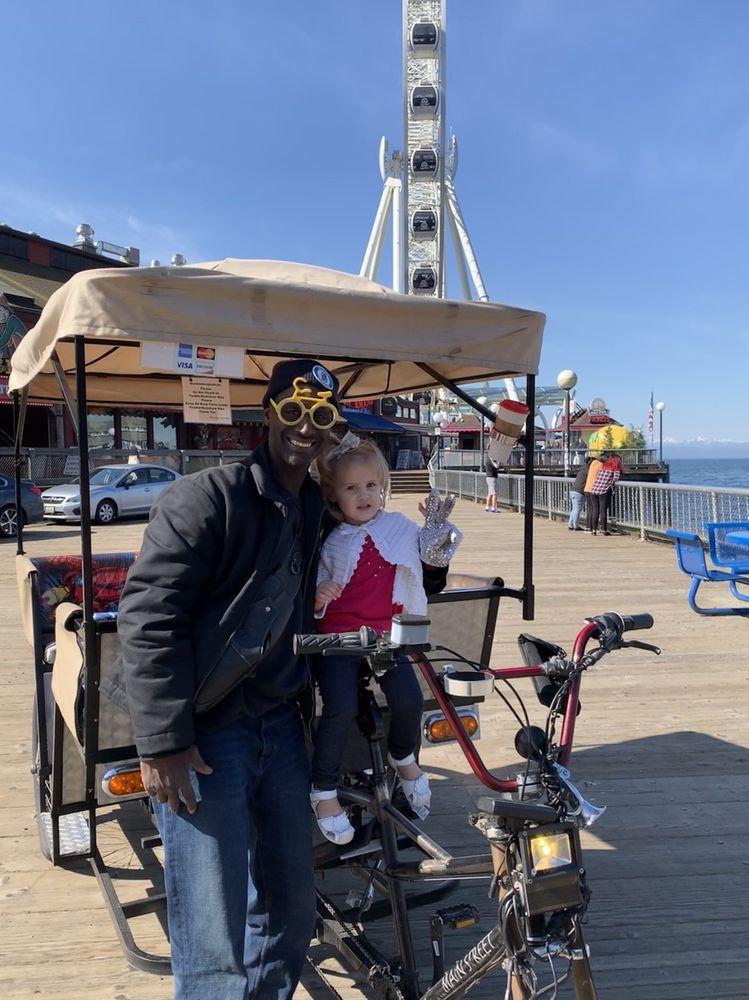 Bumble Bee Pedicab: Seattle, WA