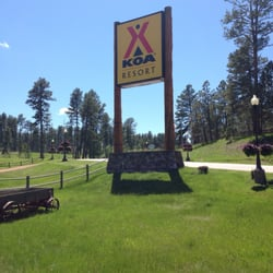 Photo Of Palmer Gulch Lodge Hill City Sd United States The Entrance