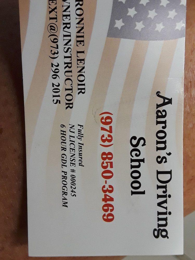 Aaron's Driving School: 15 1st St, Bloomingdale, NJ