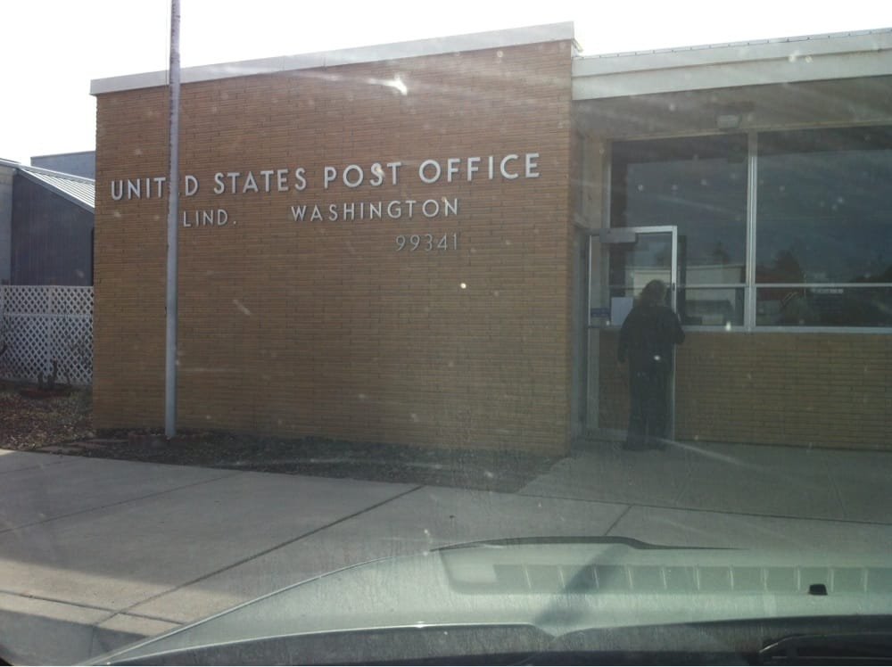 U S Post Office - Lind: 119 W 2nd Ave, Lind, WA