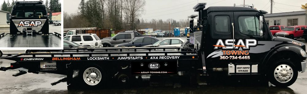Towing business in Bellingham, WA