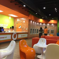 Orange Leaf Frozen