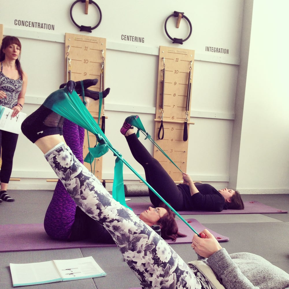 Pilates Therabands Provide More Resistance To Your Pilates