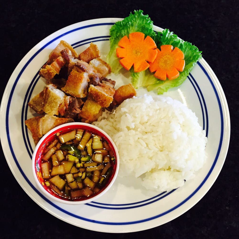 Lechon Kawali With Rice Yelp