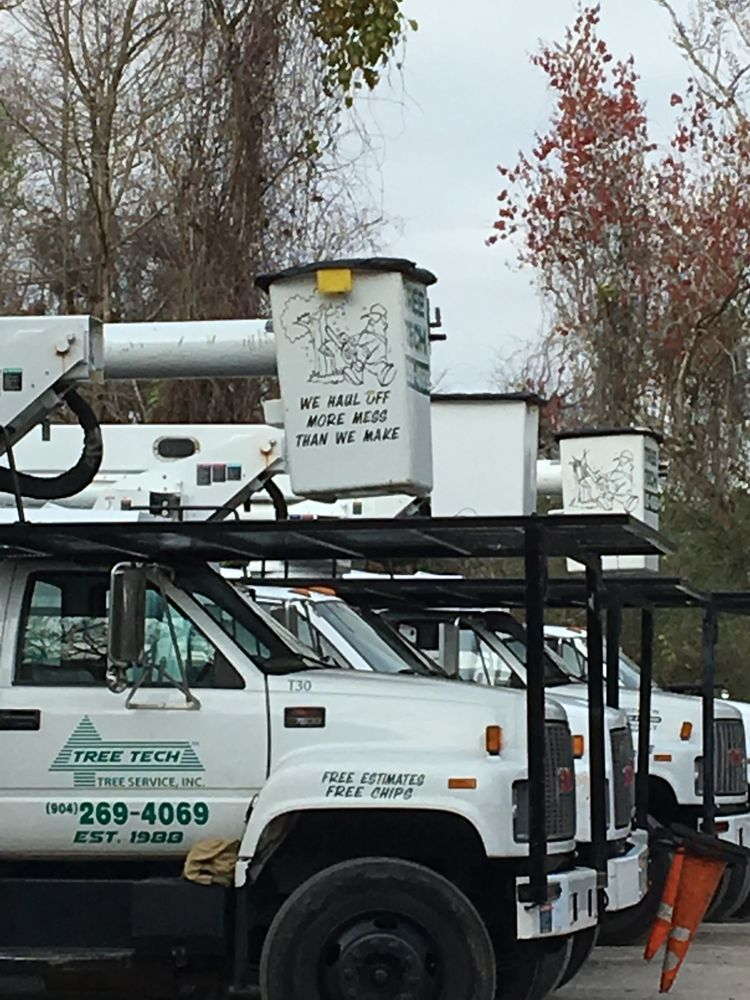 Tree Tech-Tree Service: Fleming Island, FL