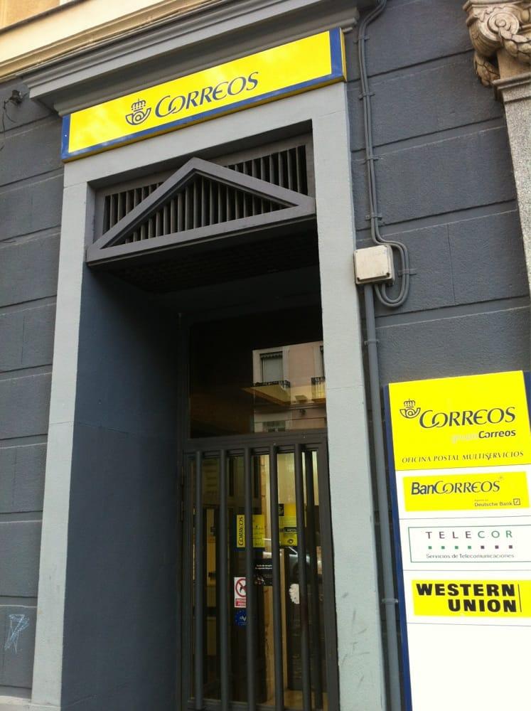 Correos oficinas de correos carrera de san francisco for Oficinas ups madrid