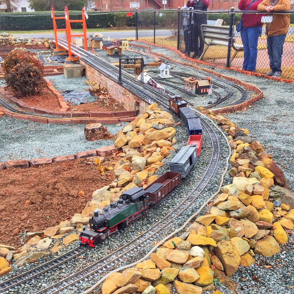 Gibsonville Garden Railroad: 220 E Main St, Gibsonville, NC