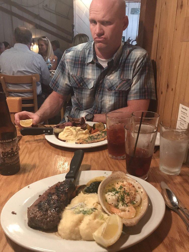Steamers Steak & Seafood Restaurant: 308 E Lake St, McCall, ID