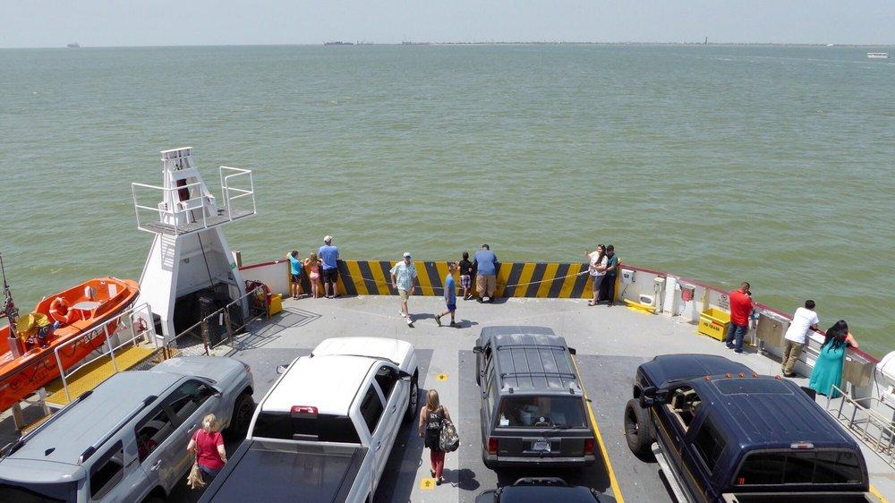 Galveston Island - Port Bolivar Ferry: 1000 Ferry Rd N, Galveston, TX