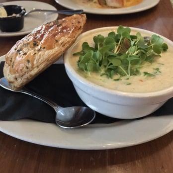... CA, United States. Scallop pot pie and crab stuffed sole over polenta