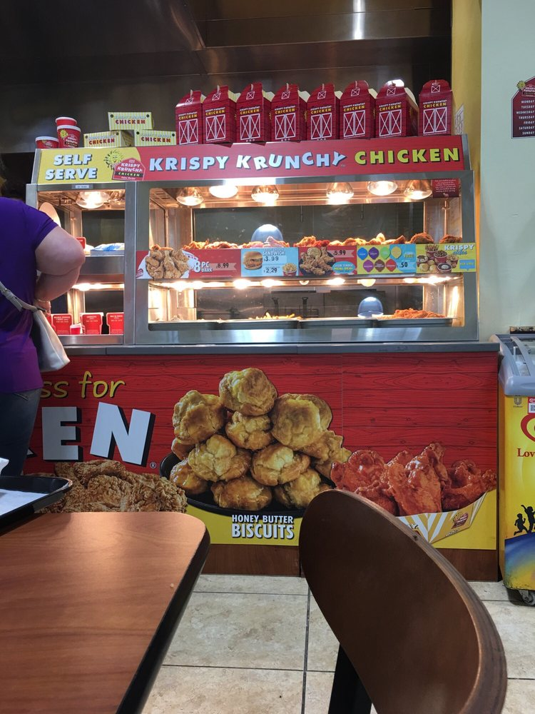 Krispy Krunchy Chicken: 10371 Corkscrew Commons Dr, Estero, FL