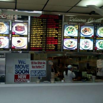 Chinese Restaurant New Britain Ave West Hartford Ct