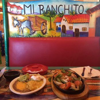 Photo Of Mi Ranchito Restaurant Ogallala Ne United States Shrimp Fajitas With