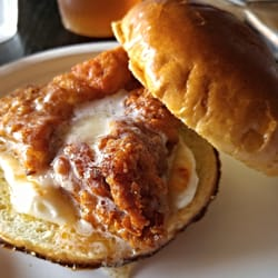 ... United States. Honey Butter Fried Chicken Sandwich - so delicious $6