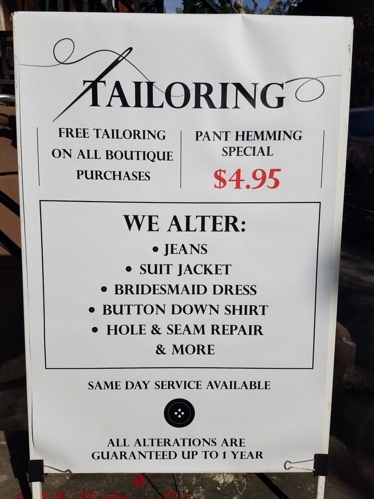 Dejavu Tailoring