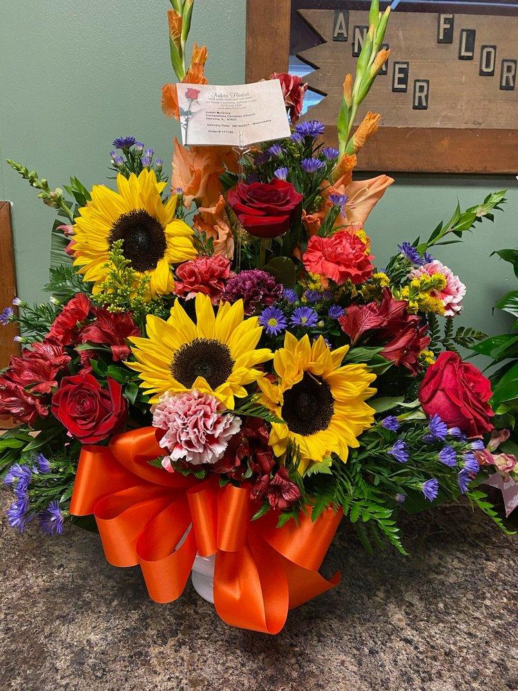 Anker Florist: 421 N Hazel St, Danville, IL