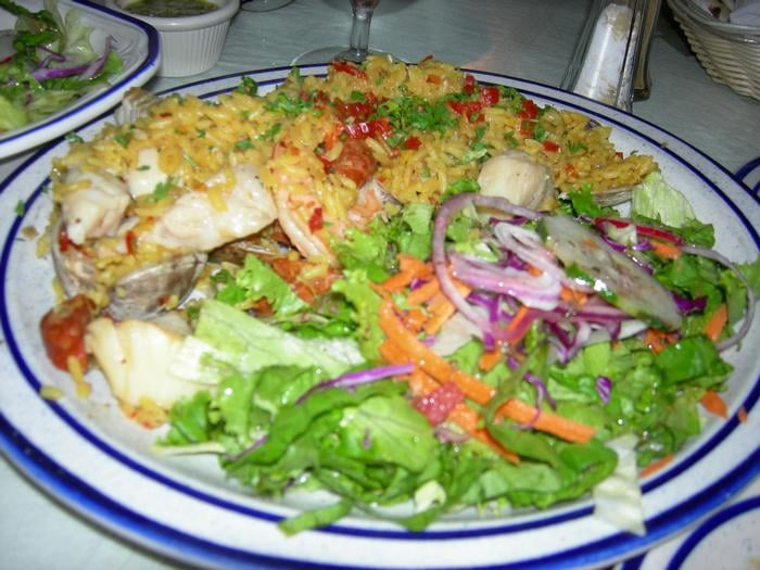 Spanish paella yelp for American cuisine san diego
