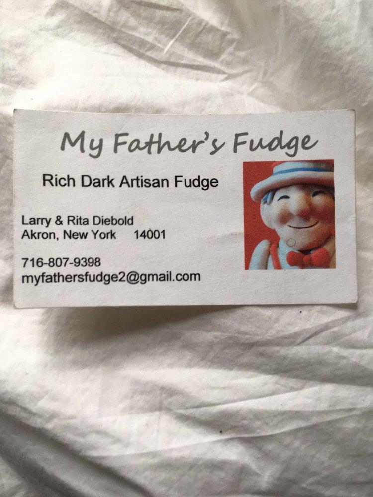 My Father's Fudge: Akron, NY