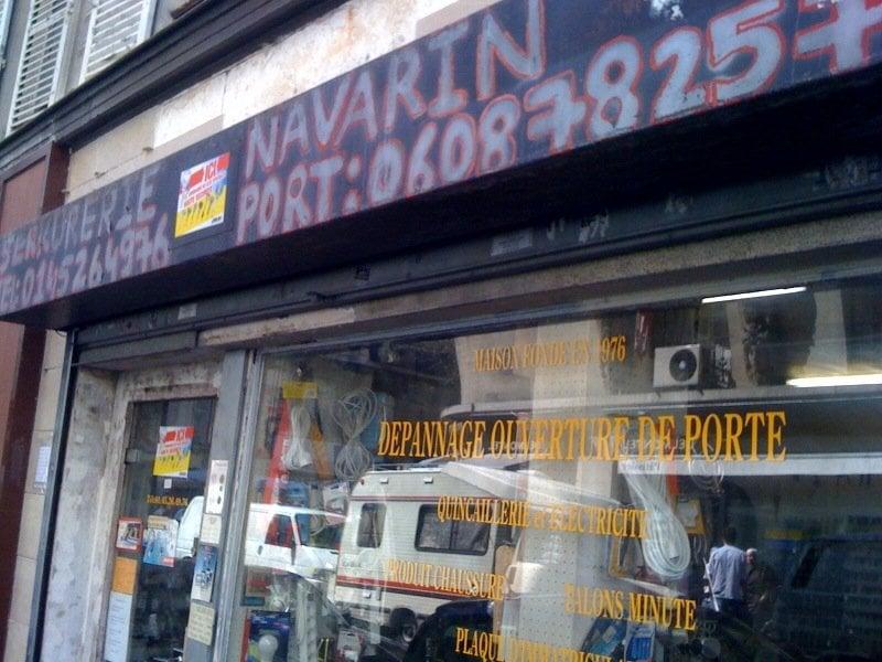 Serrurerie navarrin shoe repair 1 rue de navarin for Serrurerie paris 1