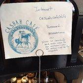 Casbah Cafe Silverlake Menu