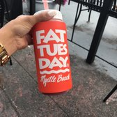 Photo Of Fat Tuesday Myrtle Beach Sc United States Half Strawberry