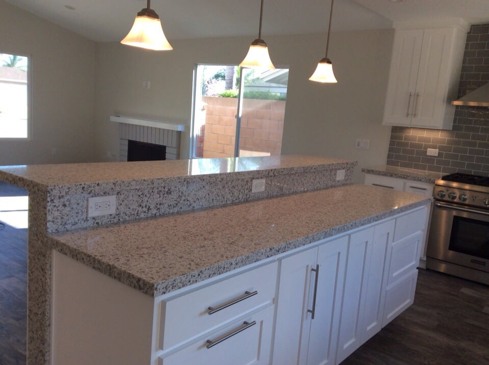 Kitchen remodel island view yelp for Mississippi custom home builders