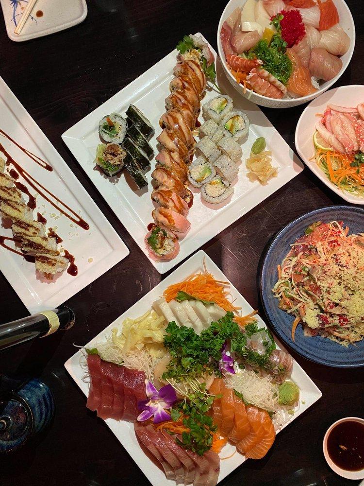 Food from Yumi Japanese Restaurant & Bar