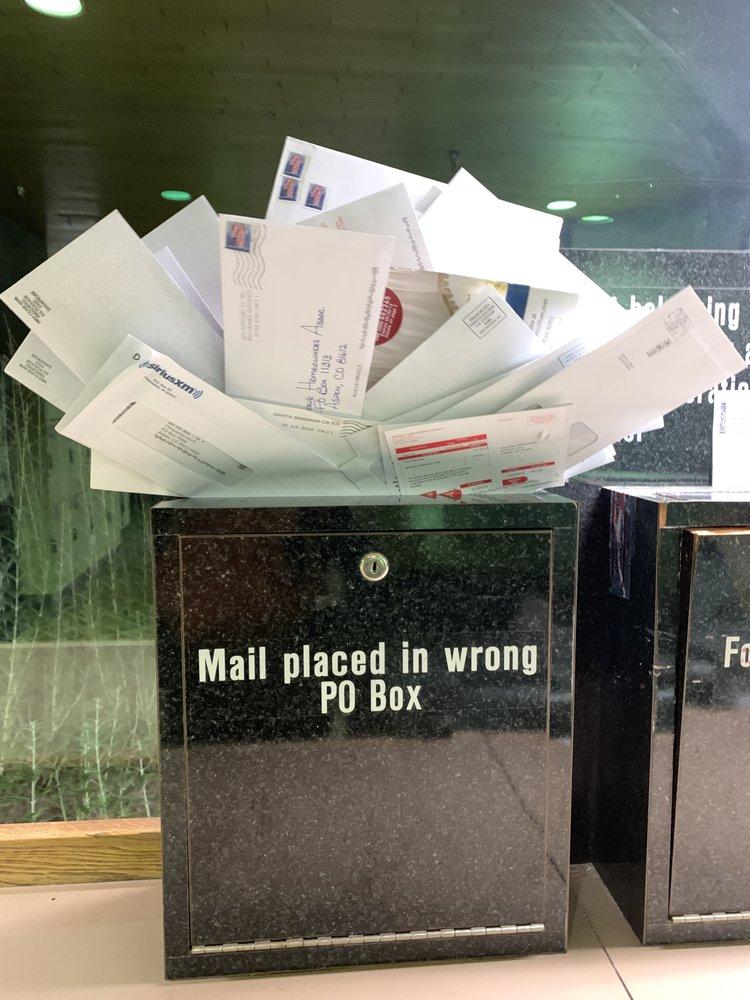 Bureau de poste américain