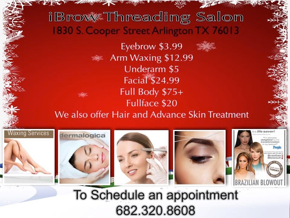 Ibrow Threading Salon Threading Services 1830 S Cooper St