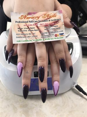 Nursery Nails 810 Rd Linthi Heights Md Manicurists Mapquest