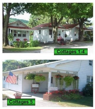 Country Vacation Cottages: 364 W Aaron Sq, Aaronsburg, PA