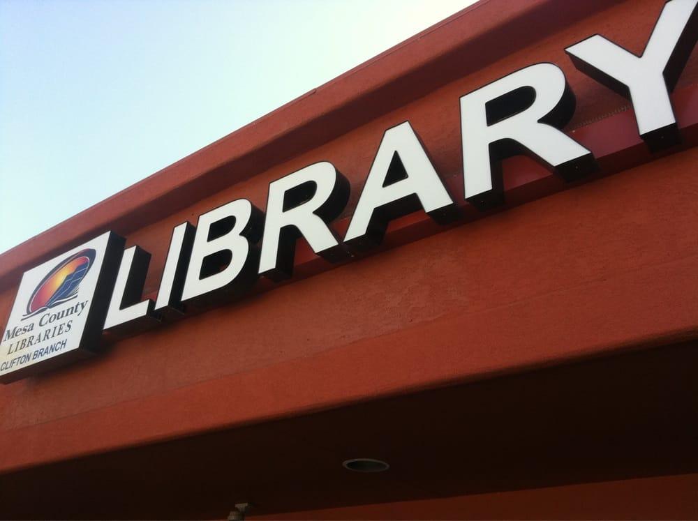 Clifton Public Library: 590 32nd Rd, Clifton, CO