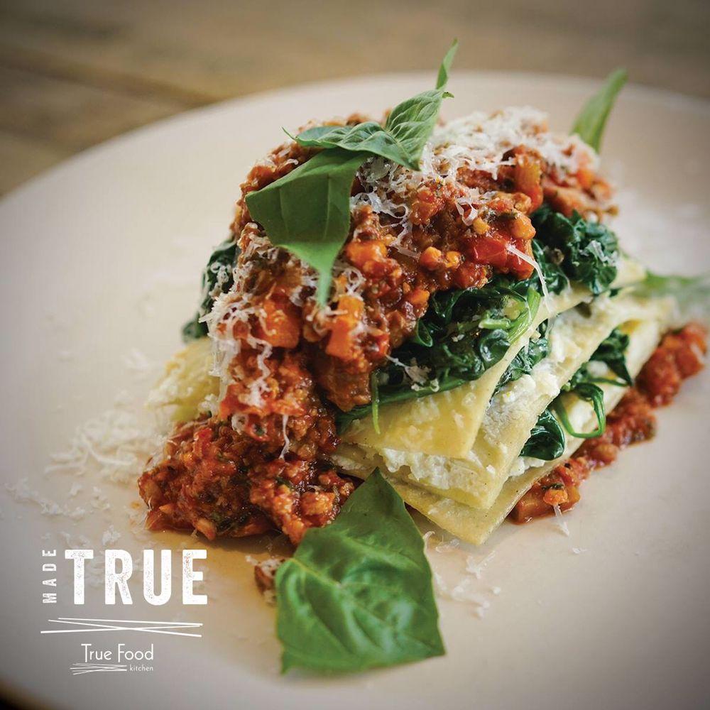 True Food Kitchen Lasagna Bolognese