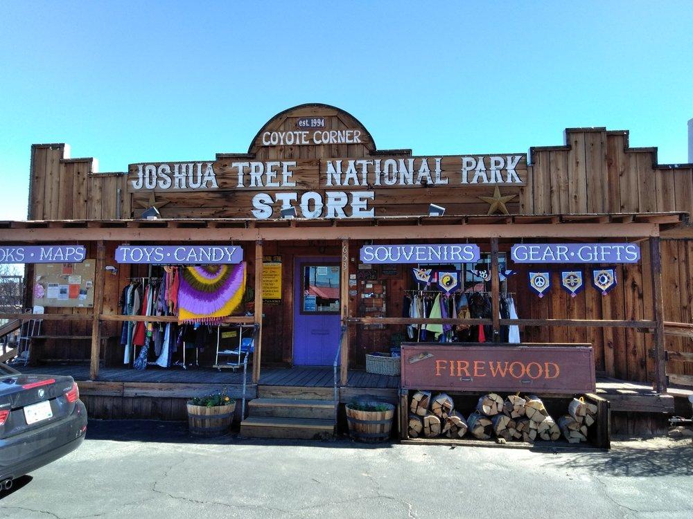 Coyote Corner: 6535 Park Blvd, Joshua Tree, CA