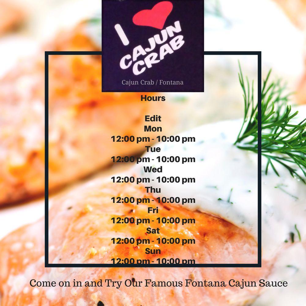 Cajun Crab: 16843 Valley Blvd, Fontana, CA