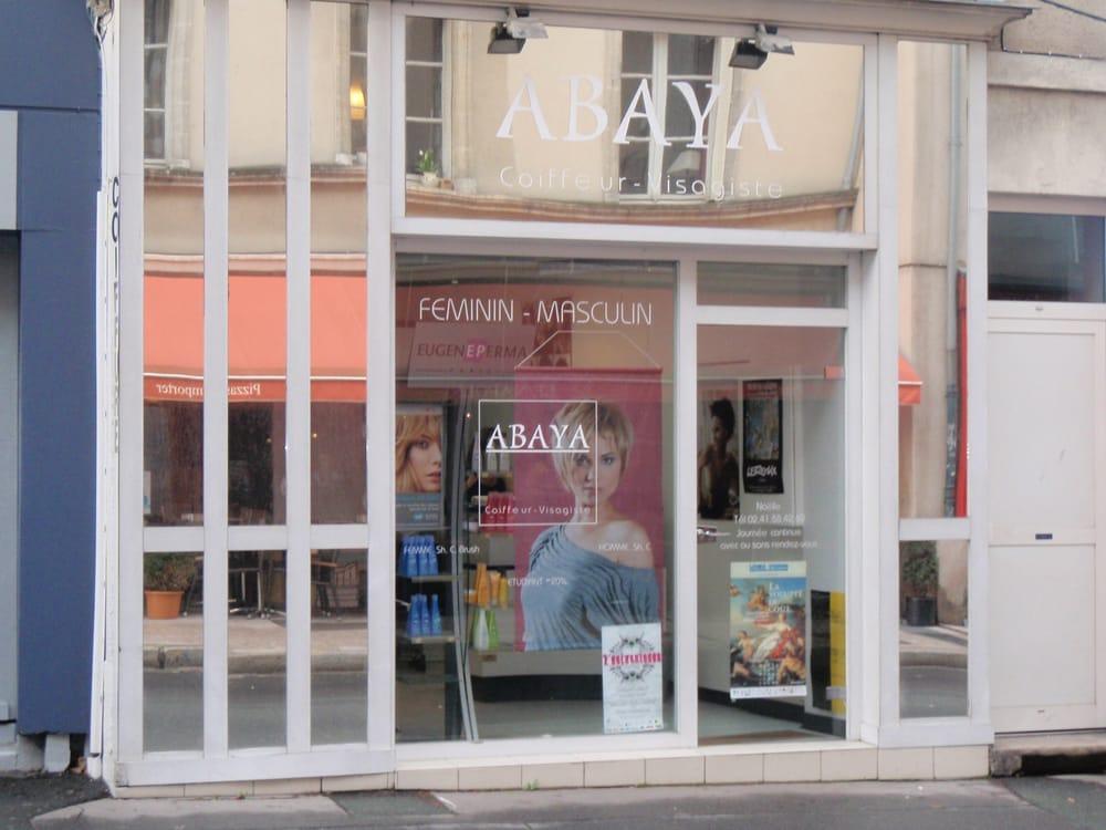 Coiffeur visagiste abaya coiffeurs salons de coiffure - Salon coiffure angers ...