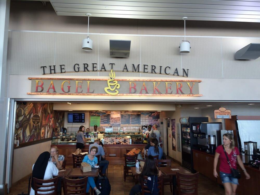 The Great American Bagel Bakery: 10710 Lambert Internationa, Saint Louis, MO