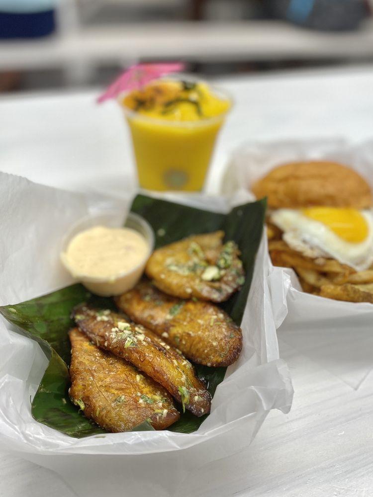 Food from Frita Batidos