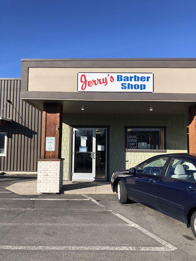Jerrys Barber Shop: 9667 N Government Way, Hayden, ID