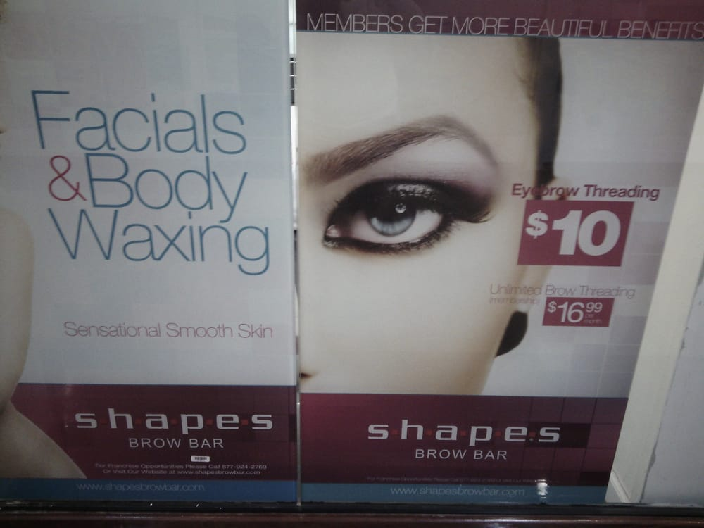 Shapes Brow Bar Hair Removal 3000 Grapevine Mills Pkwy