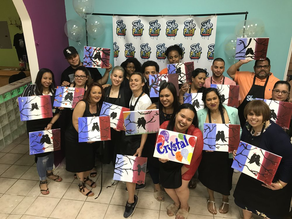 Sip and Paint Studios: 4011 East Tremont Ave, Bronx, NY